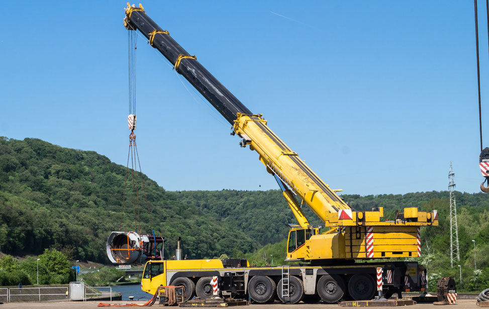 Truck Mounted and Crawler Cranes