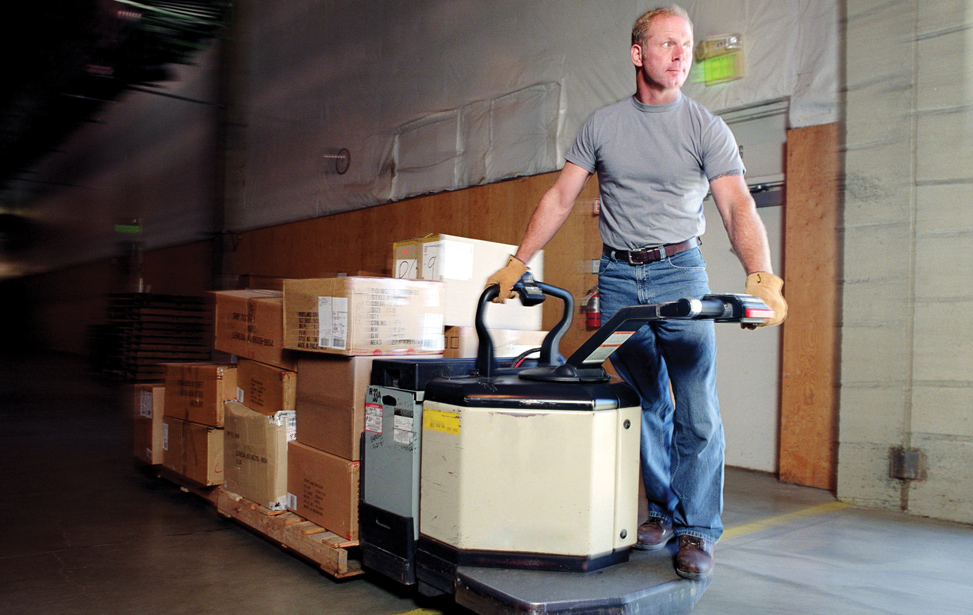 Ride on Pallet Truck Applications