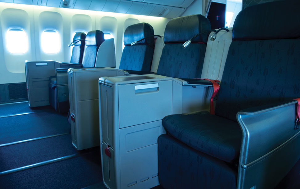 First and Business Class Seats