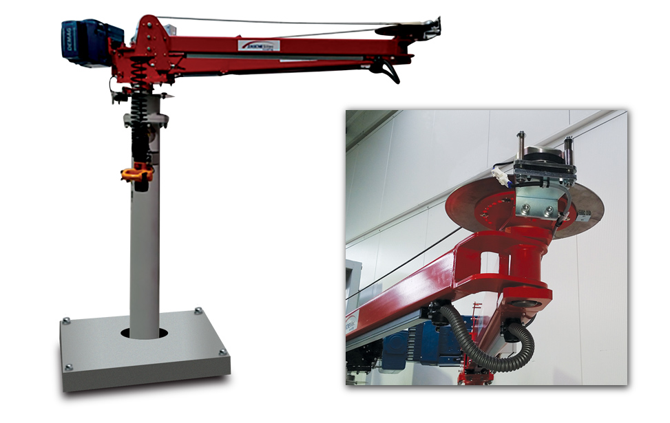 Material Handling Crane and Manipulator Arm