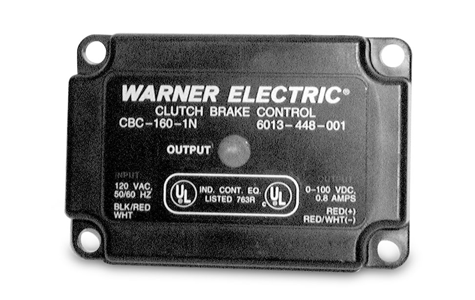 Warner CBC-160 Series Control
