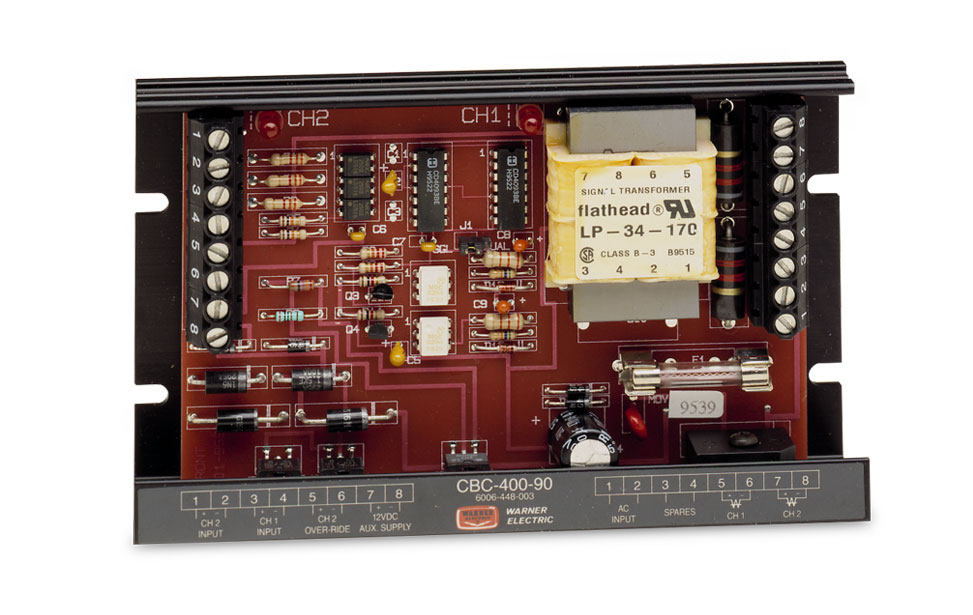 Warner CBC-400 Panel Mounted Controls