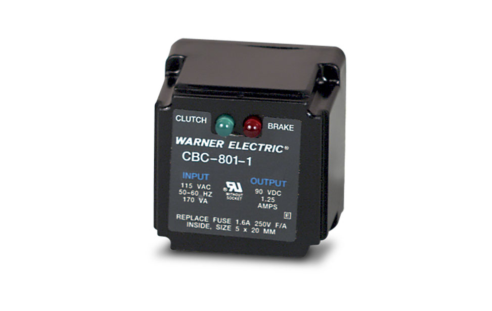 Warner CBC-801 Series Socket Controls