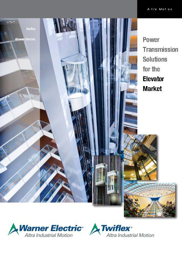(A4) Power Transmission Solutions for the Elevator Market