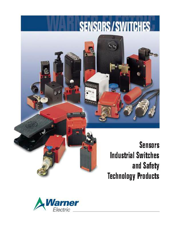 Sensors Industrial Switches & Safety Technology Products