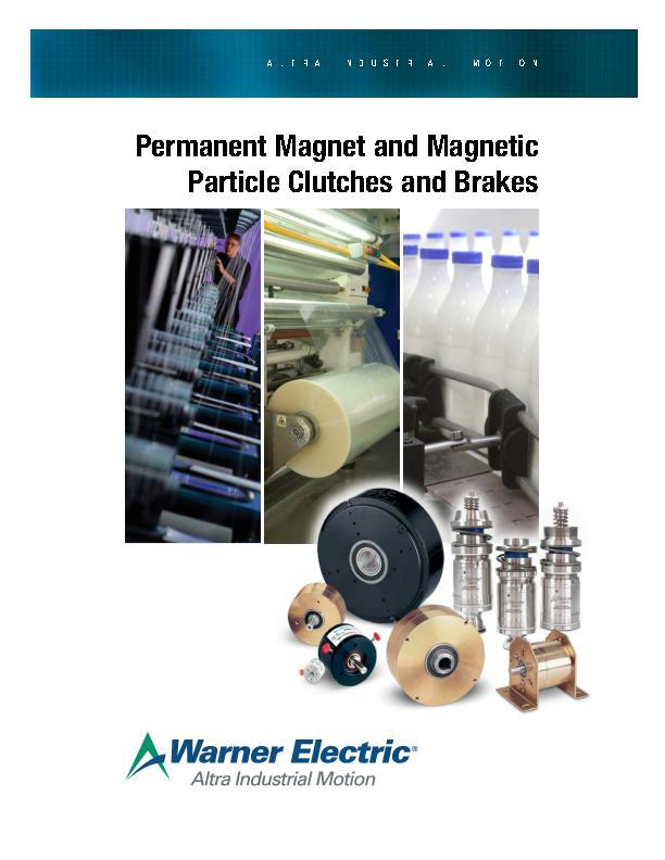 Permanent Magnet & Magnetic Particle Clutches & Brakes