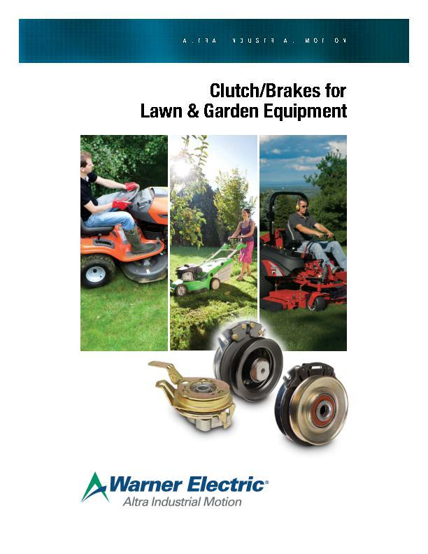 Clutch/Brakes for Lawn & Garden Equipment