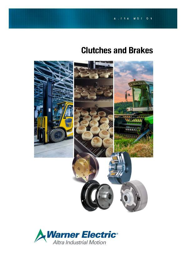 (A4) European Clutches and Brakes Catalogue