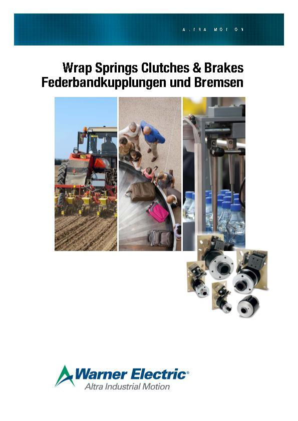 (A4) Wrap spring Clutches & Brakes (Europe)